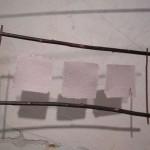 suspension papier betterave, tarlatane, osier 60x30cm 40€