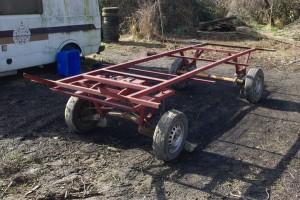 chassis en récup, février