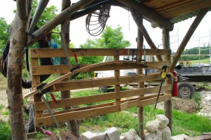fabrication des arceaux