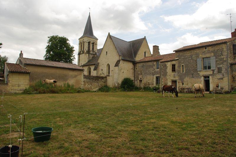 Le pré devant le prieuré