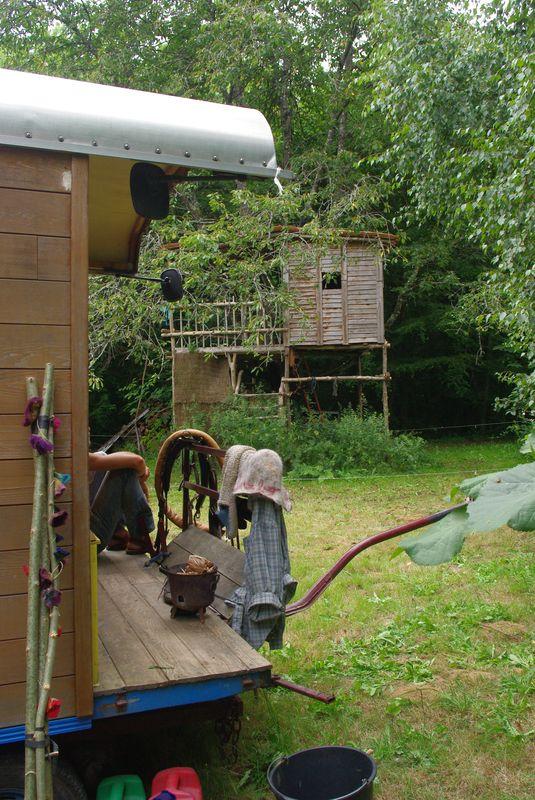 La cabane dans le jardin de Laetitia et Samuel