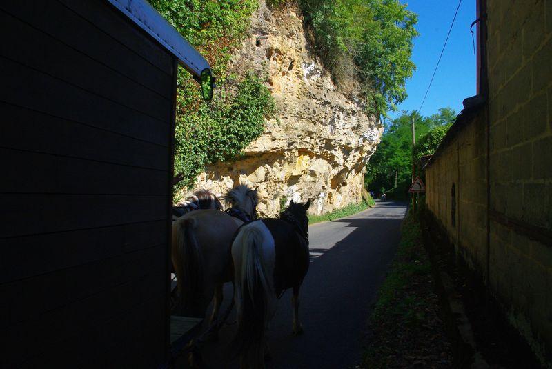 A la sortie de Couze et St Front en bord de Dordogne
