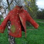 manteau feutre Martine verso